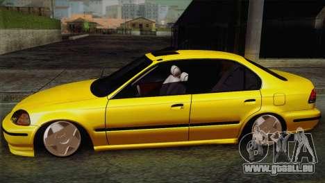 Honda Civic Edit Mehmet ALAN pour GTA San Andreas laissé vue