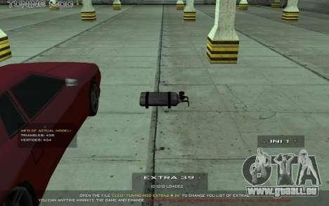 Tuning Mod 0.9 pour GTA San Andreas quatrième écran