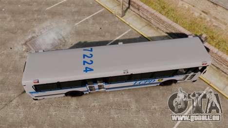 Brute Bus LCPD [ELS] für GTA 4 rechte Ansicht