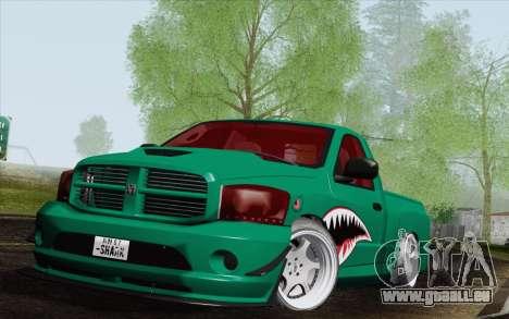 Dodge Ram SRT10 Shark für GTA San Andreas