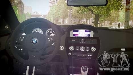 BMW M6 Hamann Widebody v2.0 pour GTA 4 est un côté