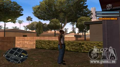 C-HUD Light pour GTA San Andreas