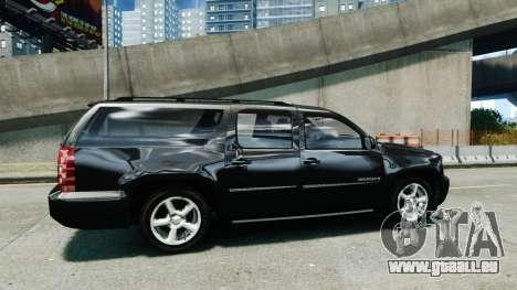 Chevrolet Suburban 2008 FBI [ELS] pour GTA 4 est une gauche