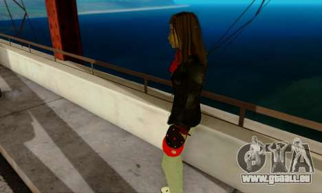 Kim Kameron pour GTA San Andreas quatrième écran