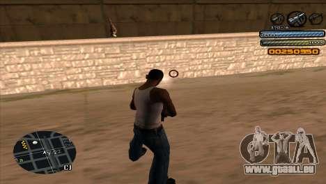 C-HUD Light pour GTA San Andreas cinquième écran