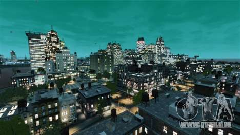 Météo À San Francisco pour GTA 4 secondes d'écran