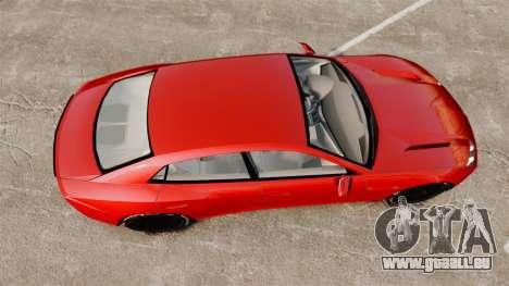 Lamborghini Estoque Concept 2008 pour GTA 4 est un droit