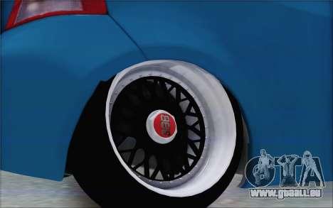 Toyota Yaris Hellaflush Young Child für GTA San Andreas Rückansicht