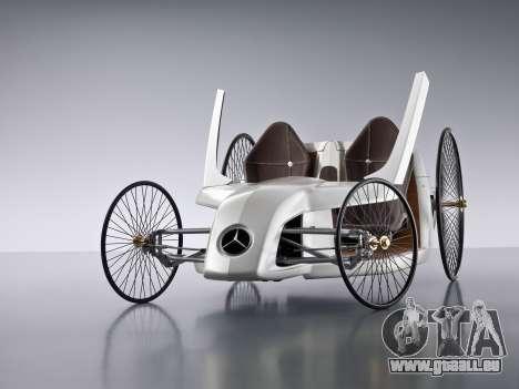 Boot-screens Mercedes-Benz F-CELL Roadster für GTA 4