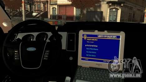 Ford Police Interceptor LCPD 2013 [ELS] pour GTA 4 est un droit