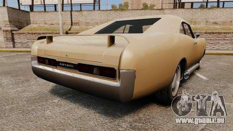 Imponte Dukes new wheels für GTA 4 hinten links Ansicht