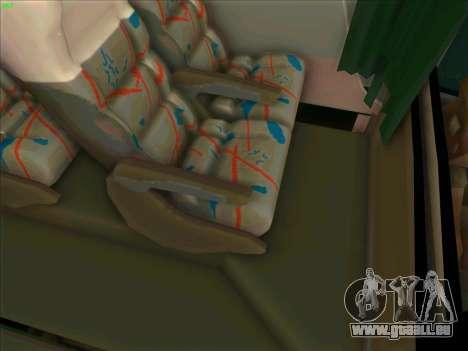 JR Australian Express pour GTA San Andreas vue intérieure