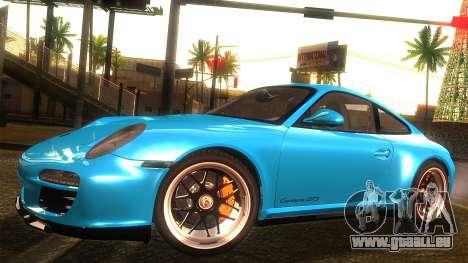 Porsche 911 Carrera GTS 2011 für GTA San Andreas Rückansicht