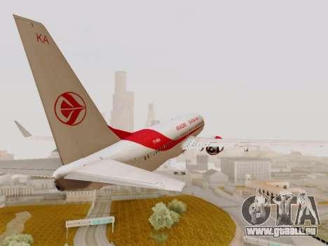 Boeing 737-800 Air Algerie für GTA San Andreas Innenansicht