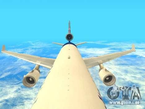 McDonnell Douglas MD-11 Delta Airlines für GTA San Andreas Seitenansicht