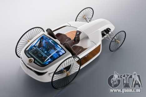 Boot-screens Mercedes-Benz F-CELL Roadster für GTA 4 sechsten Screenshot