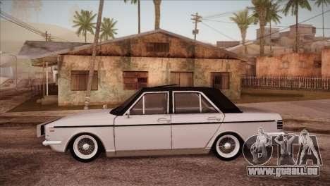 Peykan 48 Blackroof pour GTA San Andreas laissé vue