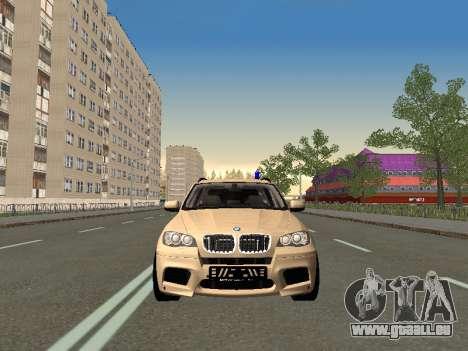 BMW X5M für GTA San Andreas linke Ansicht