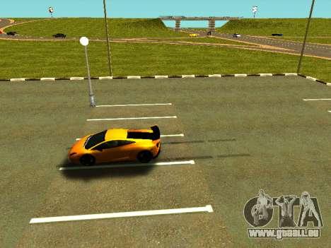 Lamborghini Gallardo Super Trofeo Stradale pour GTA San Andreas vue de côté