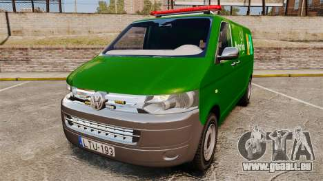 Volkswagen Transporter T5 Hungarian Post [ELS] pour GTA 4