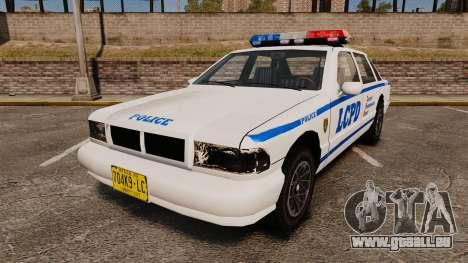 GTA SA Police Cruiser LCPD [ELS] für GTA 4