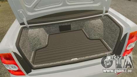 ВАЗ-Lada 2170 Priora v2.0 pour GTA 4 est une vue de l'intérieur