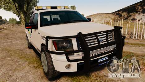Ford F-150 2010 Liberty City Service Truck [ELS] für GTA 4