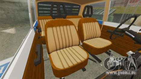 Wartburg 353w Deluxe Hungarian Police pour GTA 4 est un côté