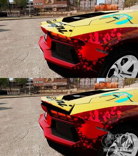 Lamborghini Aventador LP700-4 2012 [EPM] Jake pour GTA 4 est une vue de dessous