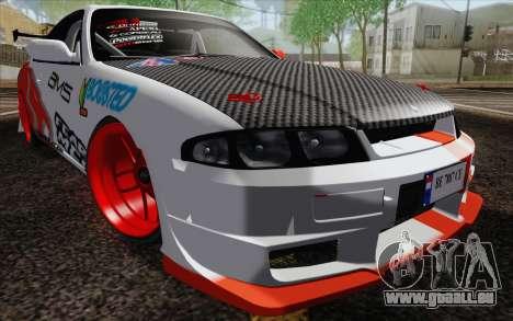 Nissan Skyline GT-R32 für GTA San Andreas Seitenansicht