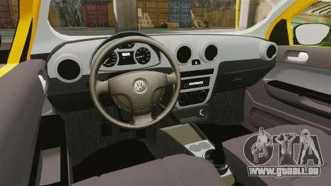 Volkswagen Gol G5 3 Puertas pour GTA 4 Vue arrière