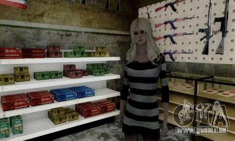 Young Blonde für GTA San Andreas zweiten Screenshot