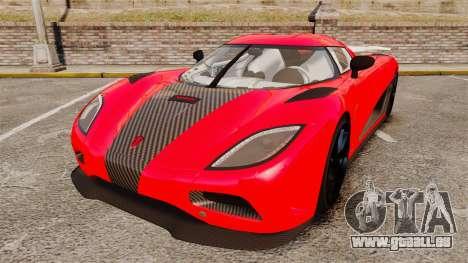 Koenigsegg Agera R [EPM] NFS für GTA 4