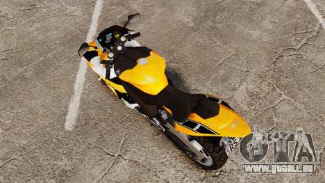 Yamaha R1 RN12 v.0.95 pour GTA 4 Vue arrière de la gauche