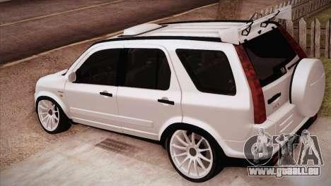 Honda CR-V Hellaflush pour GTA San Andreas laissé vue
