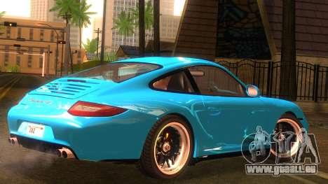 Porsche 911 Carrera GTS 2011 pour GTA San Andreas laissé vue