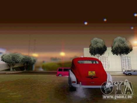 GAZ M-20 Pobeda pour GTA San Andreas vue de côté