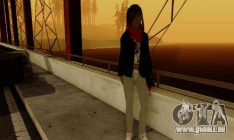 Kim Kameron pour GTA San Andreas sixième écran