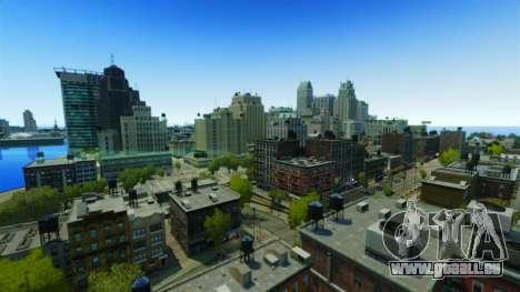 Météo À San Francisco pour GTA 4 troisième écran