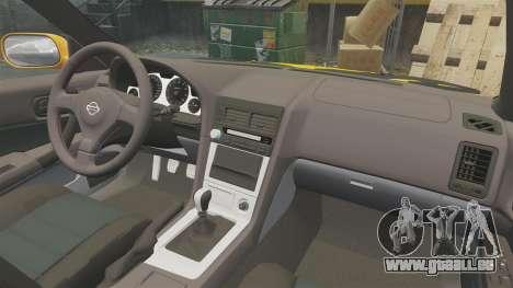 Nissan Skyline ER34 GT-R pour GTA 4 est un côté