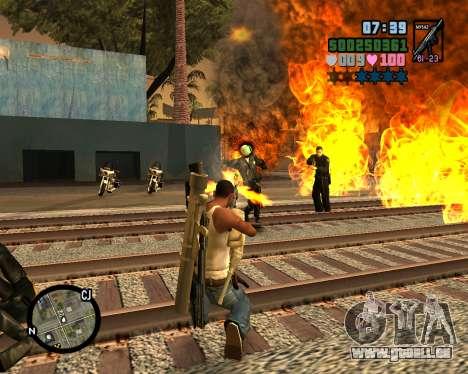C-HUD Vice Sity für GTA San Andreas her Screenshot