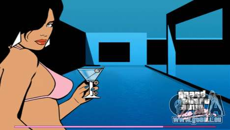 Les écrans de démarrage avec la version PS2 pour GTA Vice City cinquième écran
