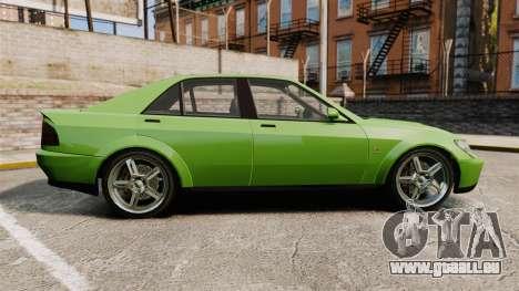 Sultan New Wheel pour GTA 4 est une gauche