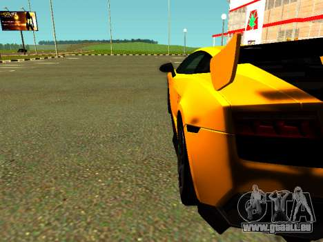 Lamborghini Gallardo Super Trofeo Stradale für GTA San Andreas rechten Ansicht