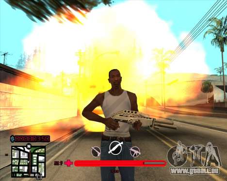 C-HUD würde Mario_Nostra für GTA San Andreas dritten Screenshot