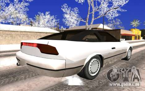 Nissan 240SX pour GTA San Andreas laissé vue