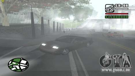 Weather Menu für GTA San Andreas fünften Screenshot