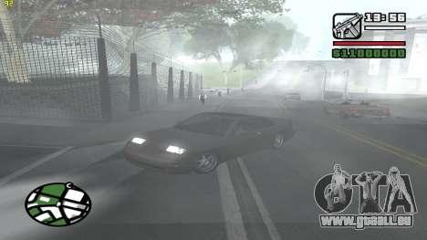Weather Menu pour GTA San Andreas cinquième écran