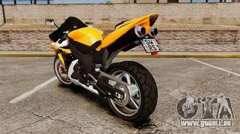 Yamaha R1 RN12 v.0.95 für GTA 4 rechte Ansicht