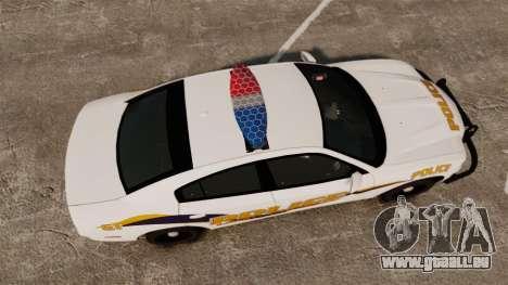 Dodge Charger 2013 Liberty University Police ELS für GTA 4 rechte Ansicht